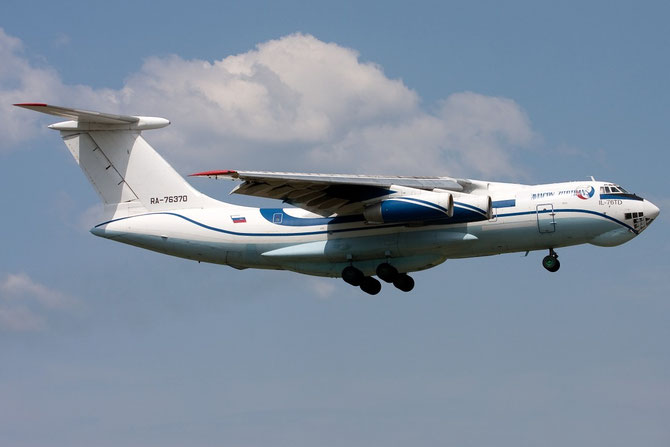 Aviacon Zitotrans Ilyushin IL-76TD - RA-76370 @ Aeroporto di Verona © Piti Spotter Club Verona