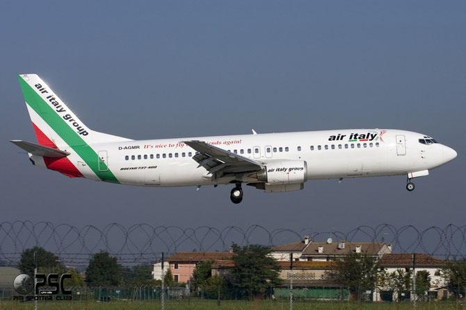 Boeing 737 - MSN 27007 - D-AGMR @ Aeroporto di Verona © Piti Spotter Club Verona