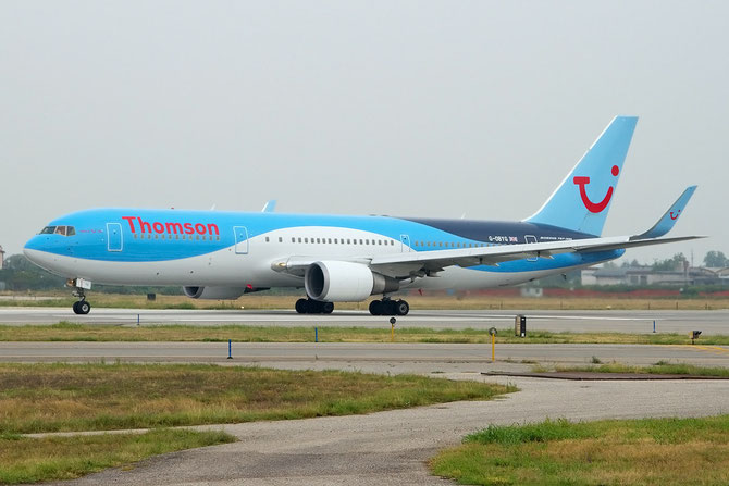 Boeing 767 - MSN 29137 - G-OBYG  @ Aeroporto di Verona © Piti Spotter Club Verona