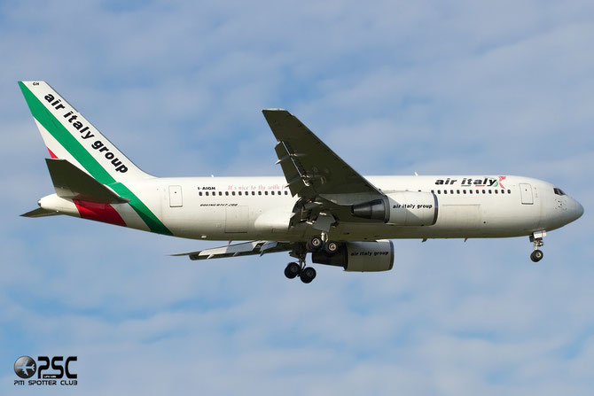 Boeing 767 - MSN 23973 - I-AIGH  @ Aeroporto di Verona © Piti Spotter Club Verona
