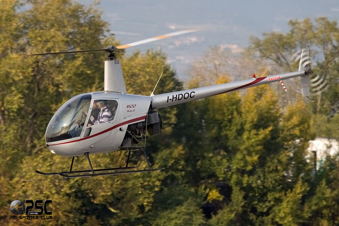 I-HDOC - Airline: Private Aircraft: Robinson R22 Beta II