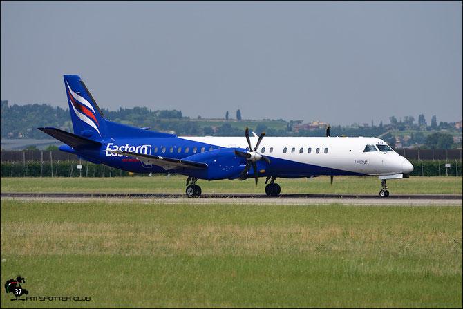 G-CFLU Saab 2000 2000-055 Eastern Airways @ Aeroporto di Verona © Piti Spotter Club Verona