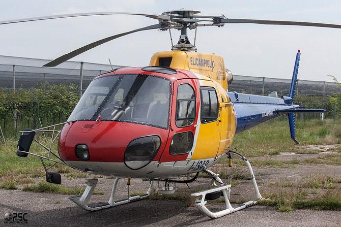 I-ISAR Eurocopter AS-350B-2 Ecureuil @ Aeroporto Verona Boscomantico © Piti Spotter Club Verona