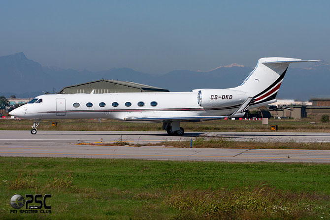 CS-DKD G550 5081 NetJets Europe