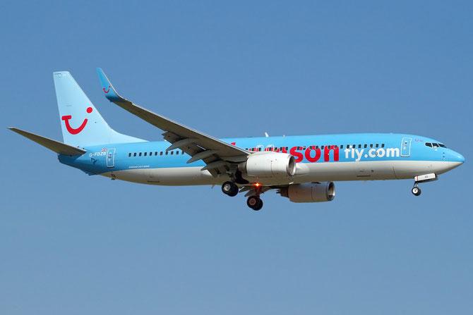 Boeing 737 Next Gen - MSN 35131 - G-FDZB @ Aeroporto di Verona © Piti Spotter Club Verona