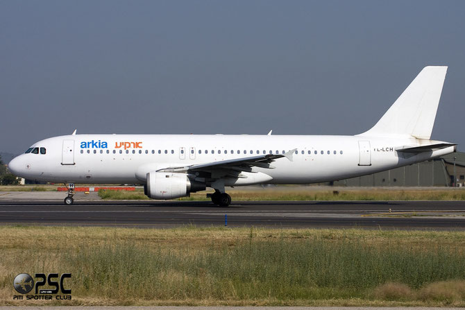 YL-LCH A320-211 426 Arkia Israeli Airlines