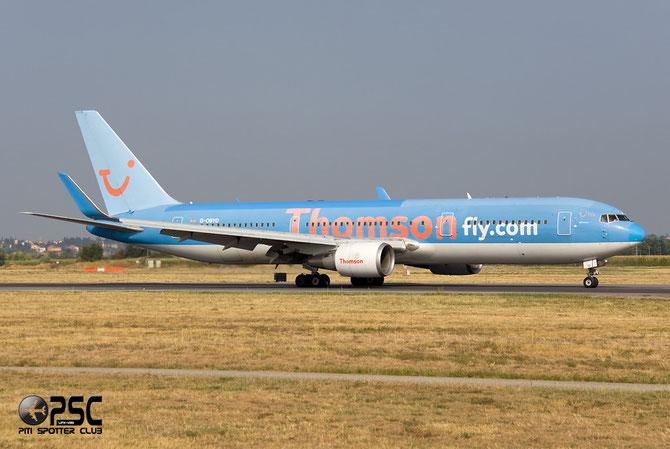 Boeing 767 - MSN 28042 - G-OBYD  @ Aeroporto di Verona © Piti Spotter Club Verona