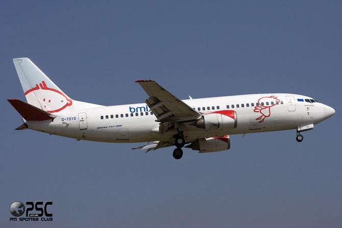 Boeing 737 - MSN 28872 - G-TOYG  @ Aeroporto di Verona © Piti Spotter Club Verona
