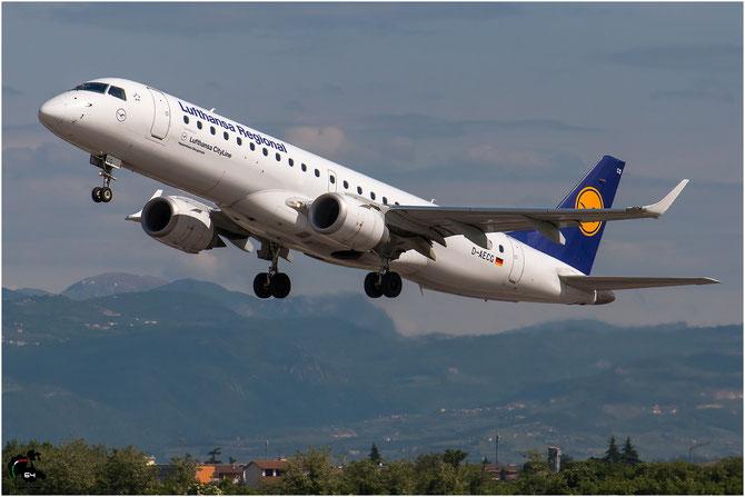 D-AECG ERJ190LR 19000368 Lufthansa CityLine @ Aeroporto di Verona © Piti Spotter Club Verona