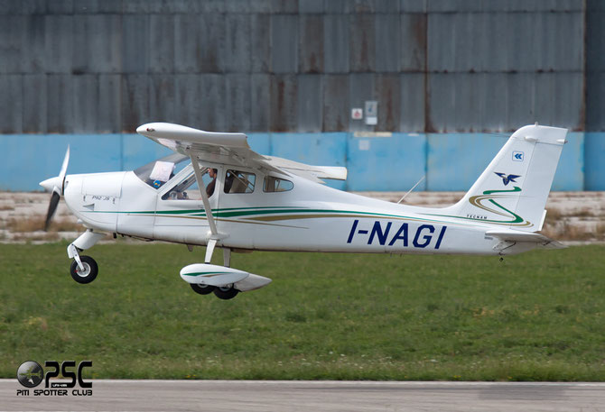 I-NAGI - Tecnam P92 Echo, JS & Super @ Aeroporto Verona Boscomantico © Piti Spotter Club Verona