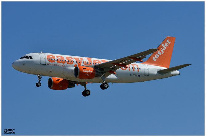 Airbus A319 - MSN 3122 - G-EZBV @ Aeroporto di Verona © Piti Spotter Club Verona