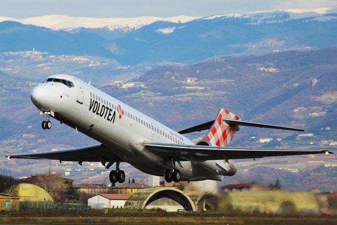 Boeing 717 - MSN 55185 - EC-LPM  @ Aeroporto di Verona © Piti Spotter Club Verona