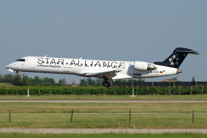 Canadair Regional Jet - MSN 10091 - D-ACPQ @ Aeroporto di Verona © Piti Spotter Club Verona