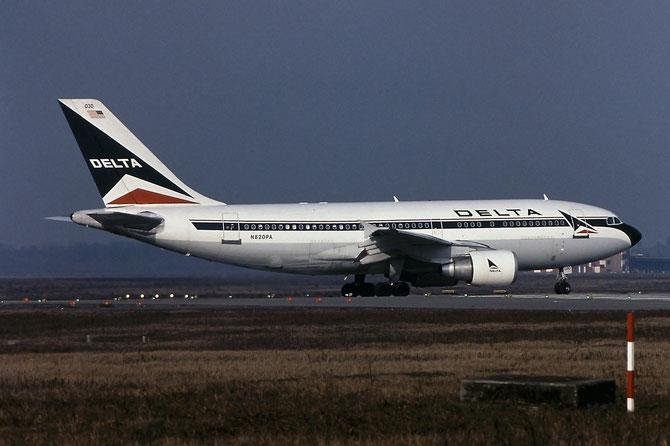 N820PA A310-324ET 457 Delta Air Lines