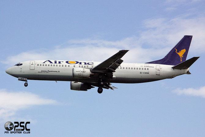EI-CWW B737-4Y0 24906/2009 Air One