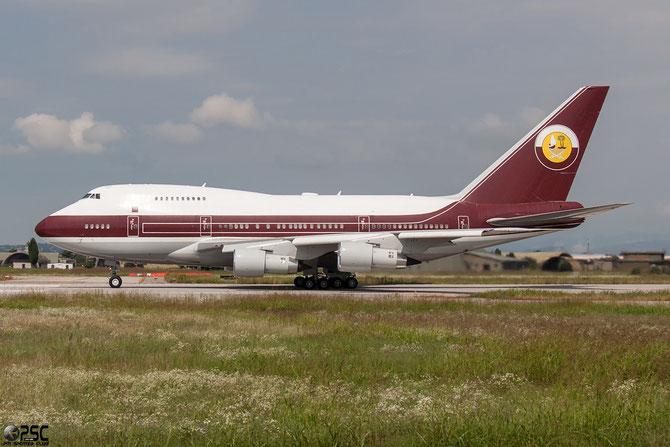 VP-BAT B747SP-21 21648/367 Sheikh Kalifa Bin Hamad Al Thani