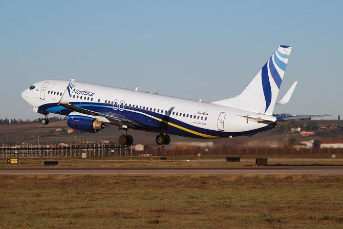 VQ-BDW B737-8K5 27977/9 NordStar Airlines @ Aeroporto di Verona © Piti Spotter Club Verona