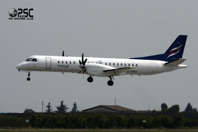 G-CERZ Saab 2000 2000-042 Eastern Airways