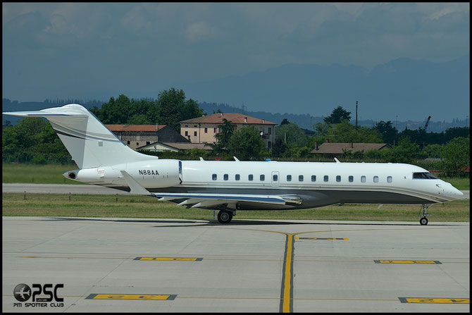 N88AA Global 6000 9438 Tempus Jets Inc.