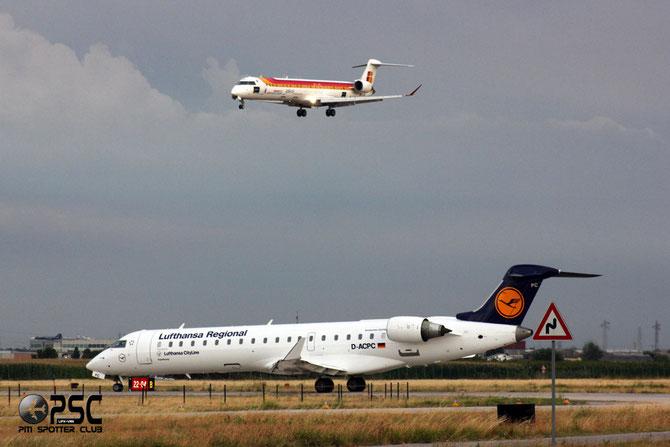 Canadair Regional Jet - MSN 10014 - D-ACPC  @ Aeroporto di Verona © Piti Spotter Club Verona