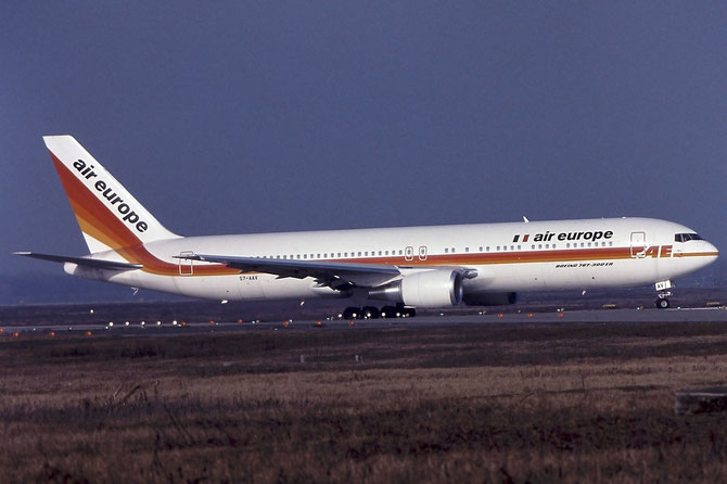S7-AAV B767-35HER 26388/456 Air Europe Italy