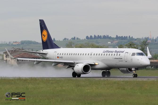 D-AECI ERJ190LR 19000381 Lufthansa CityLine @ Aeroporto di Verona © Piti Spotter Club Verona