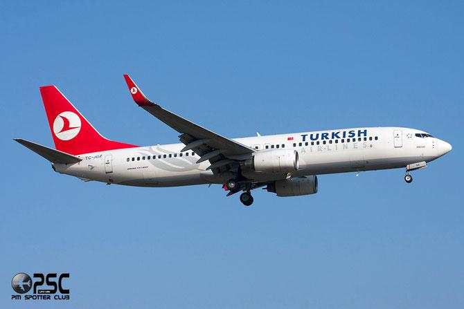 TC-JGZ B737-8F2 35739/2654 THY Turkish Airlines - Türk Hava Yollari @ Aeroporto di Verona © Piti Spotter Club Verona