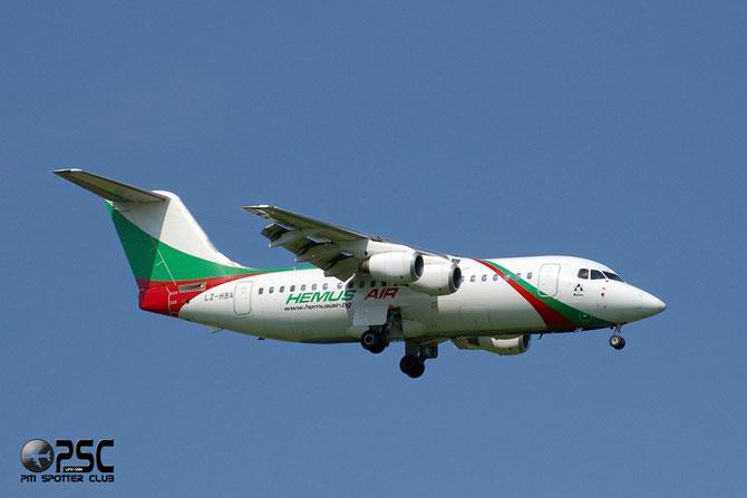 LZ-HBA BAe146-200 E2072 Hemus Air