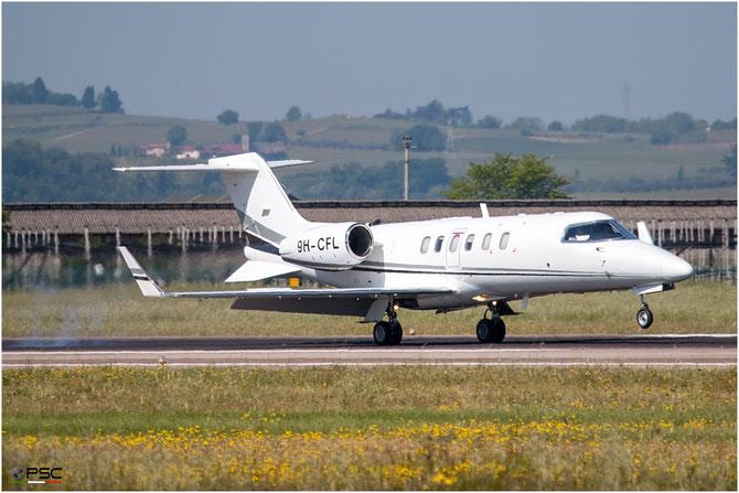 9H-CFL - 2004 LEARJET 40  - Private - @ Aeroporto di Verona - 2016 © Piti Spotter Club Verona