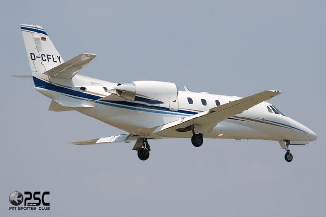 D-CFLY Ce560XLS+ 560-6014 Air Hamburg Luftverkehrs GmbH