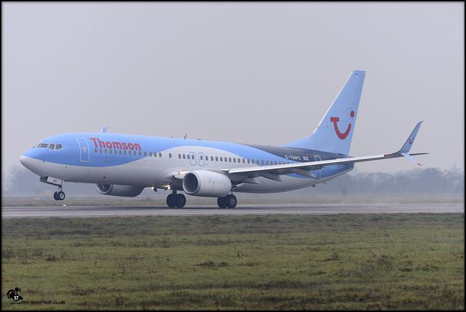 G-TAWS B737-8K5 37241/4842 Thomson Airways (S) @ Aeroporto di Verona - 2016 © Piti Spotter Club Verona