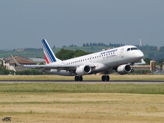 Embraer 190/195 - MSN 311 - F-HBLJ  @ Aeroporto di Verona © Piti Spotter Club Verona