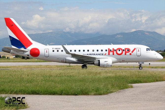 Embraer 170/175 - MSN 8 - F-HBXK (Hop! livery) @ Aeroporto di Verona © Piti Spotter Club Verona