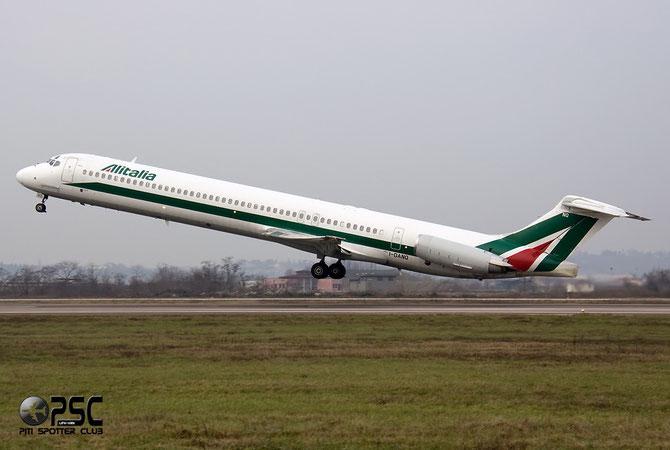 McDonnell Douglas MD-80/90 - MSN 53181 - I-DANQ @ Aeroporto di Verona © Piti Spotter Club Verona