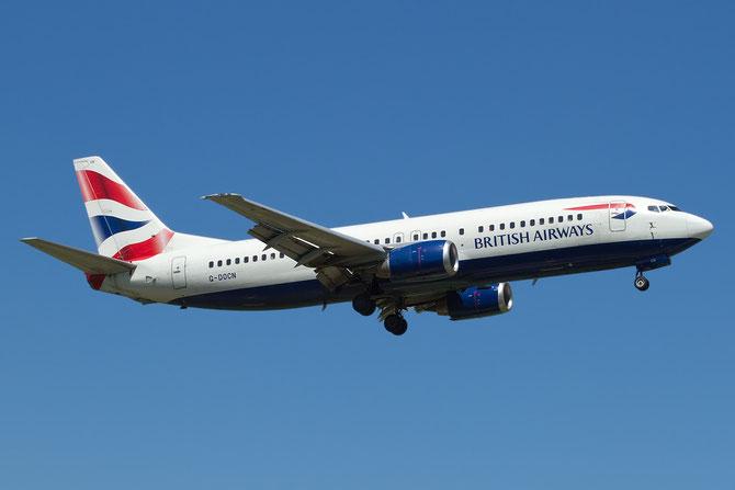 Boeing 737 - MSN 25848 - G-DOCN @ Aeroporto di Verona © Piti Spotter Club Verona