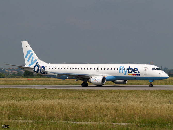 Embraer 190/195 - MSN 120 - G-FBEG @ Aeroporto di Verona © Piti Spotter Club Verona
