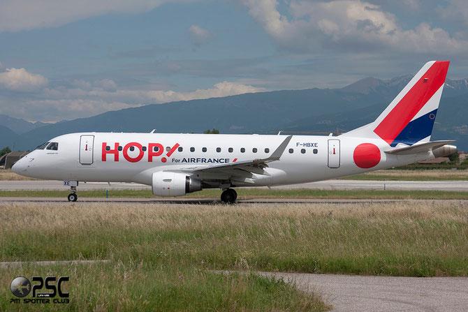 Embraer 170/175 - MSN 286 - F-HBXE  (Hop! livery) @ Aeroporto di Verona © Piti Spotter Club Verona
