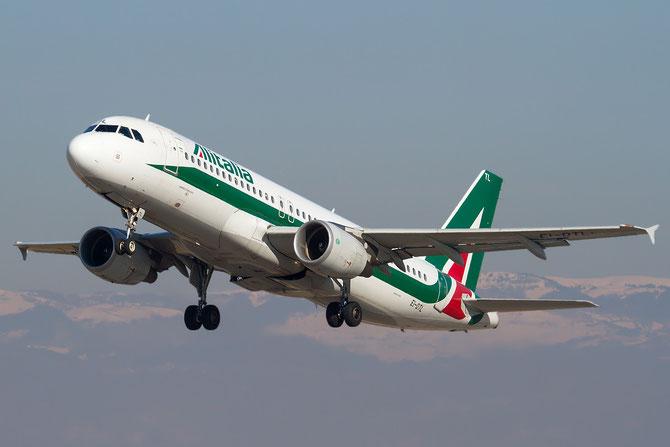 EI-DTL A320-216 4108 Alitalia @ Aeroporto di Verona © Piti Spotter Club Verona