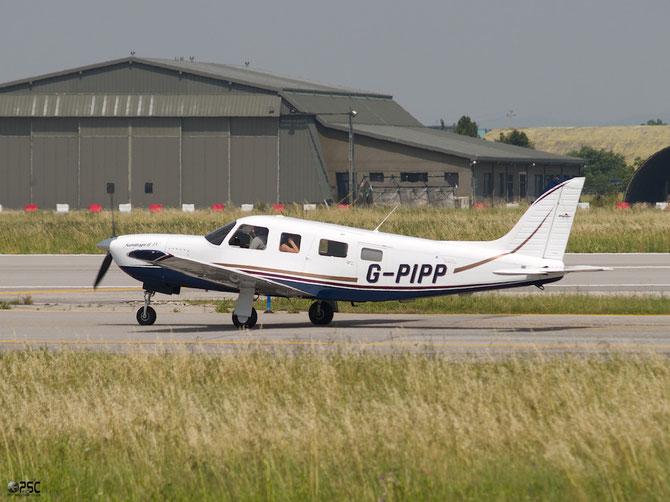 G-PIPP Piper Aircraft Inc PA-32R-301T Saratoga  3257454 Poores Travel Consultants Ltd
