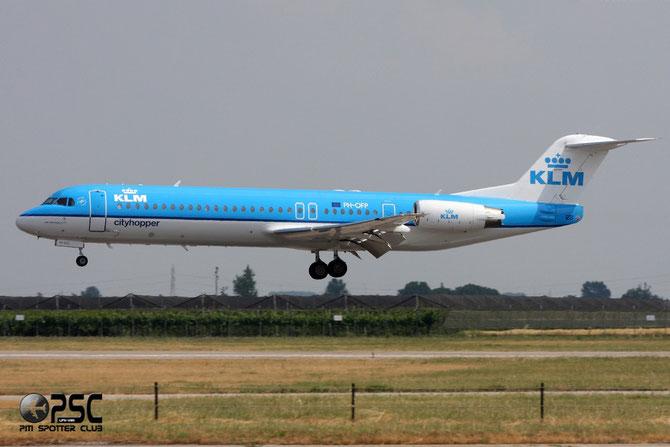 PH-OFP Fokker 100 11472 KLM Cityhopper