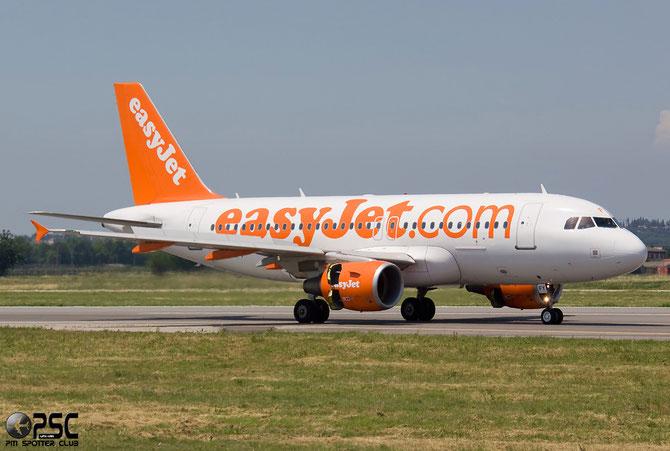 Airbus A319 - MSN 4418 - G-EZFY @ Aeroporto di Verona © Piti Spotter Club Verona