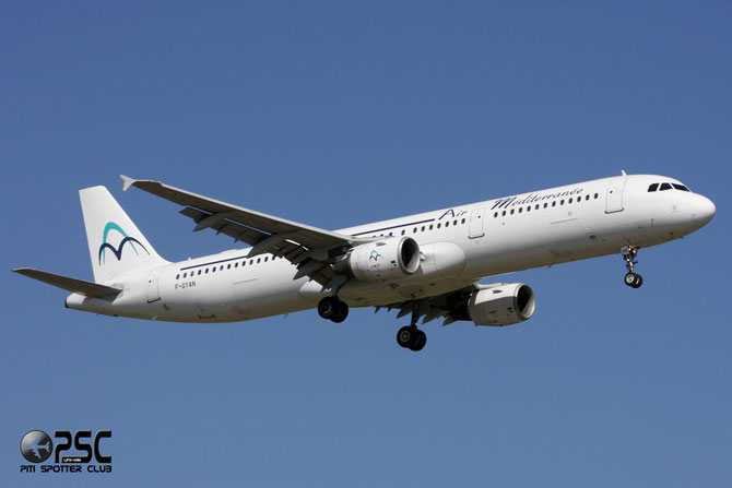 F-GYAN A321-111 535 Air Méditerranée