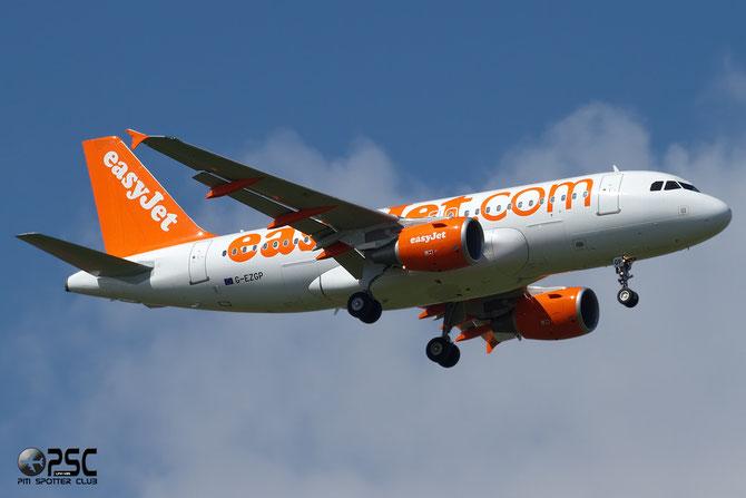 Airbus A319 - MSN 2385 - G-EZPG  @ Aeroporto di Verona © Piti Spotter Club Verona