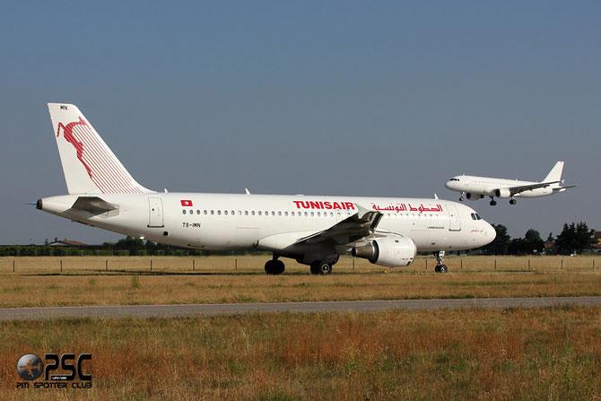 TS-IMN A320-211 1187 Tunis Air @ Aeroporto di Verona © Piti Spotter Club Verona