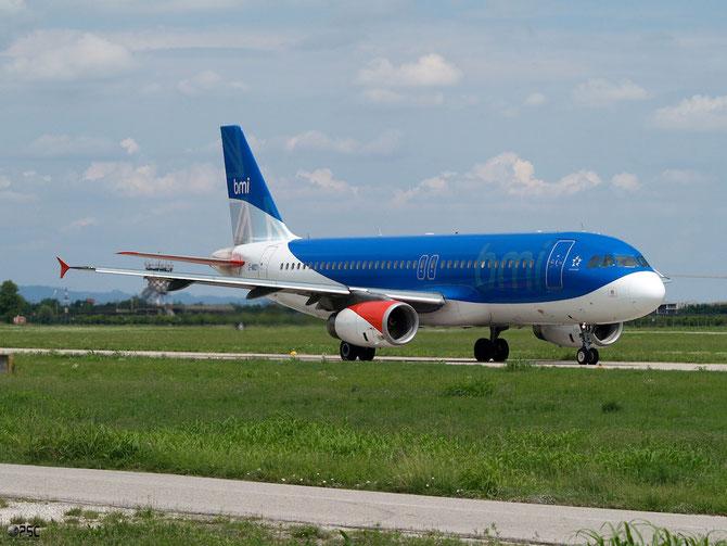 Airbus A320 - MSN 1014 - G-MIDY  @ Aeroporto di Verona © Piti Spotter Club Verona