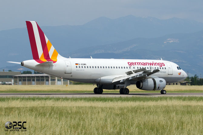 D-AGWN A319-132 3841 Germanwings