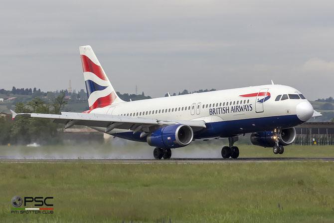 G-EUUZ A320-232 3649 British Airways @ Aeroporto di Verona © Piti Spotter Club Verona
