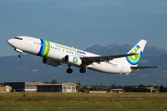 PH-HSF B737-8K2 39261/3998 Transavia Airlines