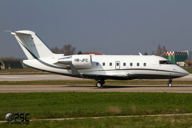 HB-JFC CL-604 5539 Nomad Aviation