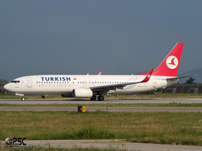 TC-JGM B737-8F2 34411/1944 THY Turkish Airlines - Türk Hava Yollari @ Aeroporto di Verona © Piti Spotter Club Verona